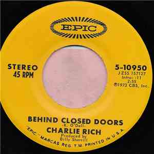 Charlie Rich - Behind Closed Doors / A Sunday Kind Of Woman download
