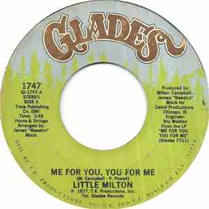 Little Milton - Me For You, You For Me download
