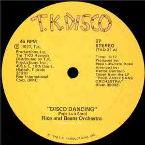 Rice And Beans Orchestra - Disco Dancing / Our Love Concerto download